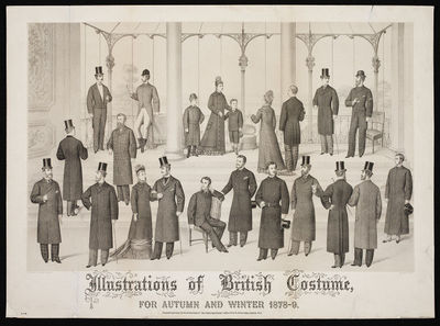 Illustrations of British Costume for Autumn and Winter 1878-9