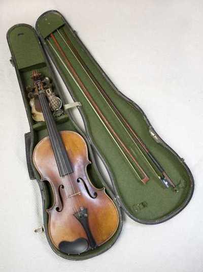 Fiolin m/utstyr