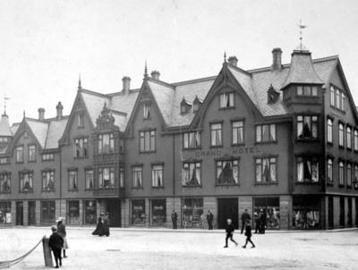 Grand Hotell I på Kirkelandet i Kristiansund N.