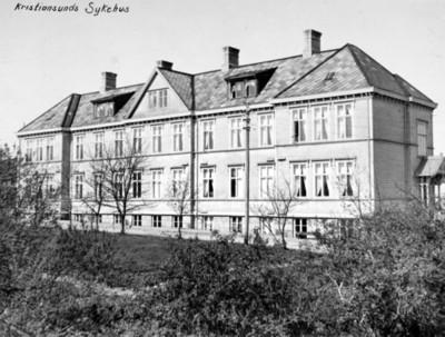 Det gamle sykehuset på Kirkelandet i Kristiansund N.