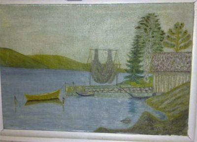 Marius, maleriet og makrellnota