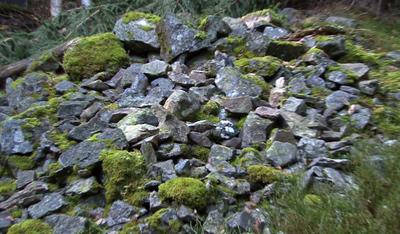 Steinkastet ved Østervannet
