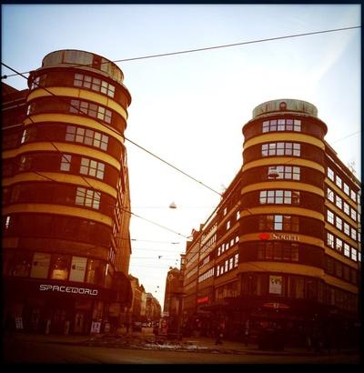 Tvillingtårnene i Storgata