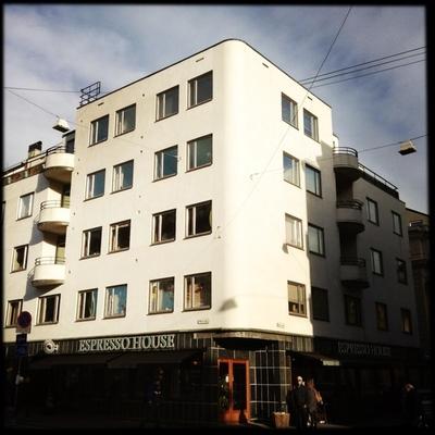 Solfylt funkis på Grünerløkka.