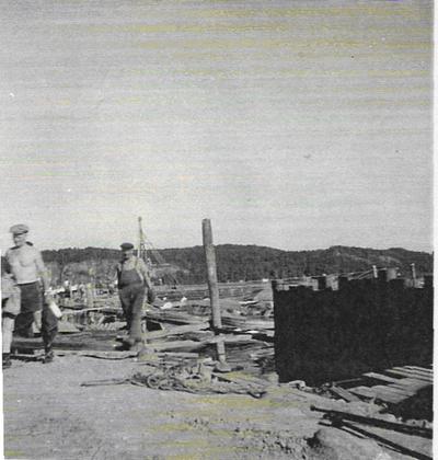 Bygging av Hagemannsmoloen