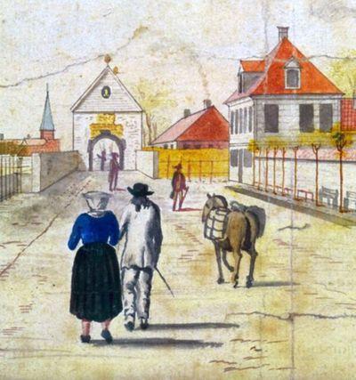 Festningsbyen Bergen