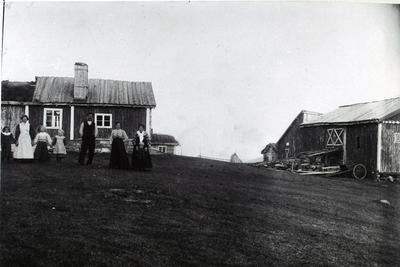 Haugen i Lykkja i Hemsedal, ca. 1917.