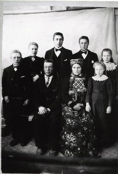 Familien Margit og Knut Intelhus.