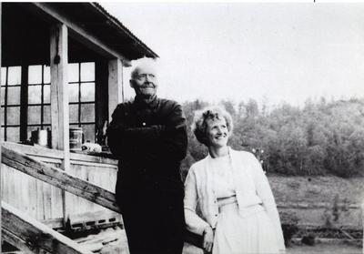 Svein Vanneviken og fru Selikovitz