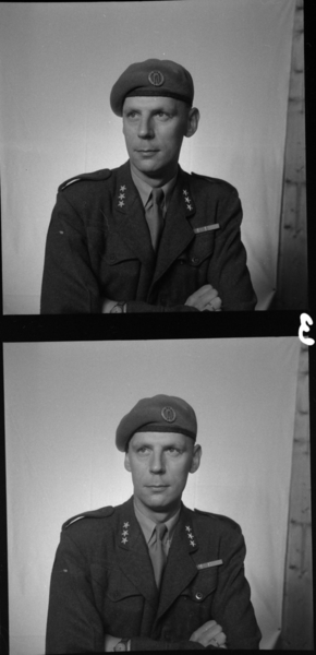 Militære, Starum ekserserplass, diverse kurs, 1953. Starum i Lena, Toten.