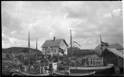 Gravferda til fru Nordstrand frå Vadøyneset i Bulandet