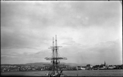Frå hamna i Trondheim