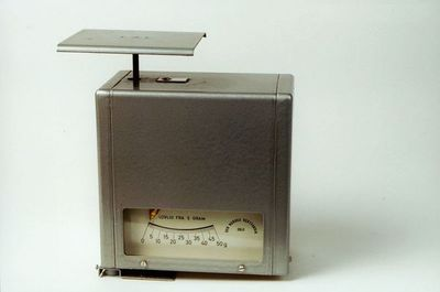 postmuseet, gjenstander, vekt, postvekt, brevvekt