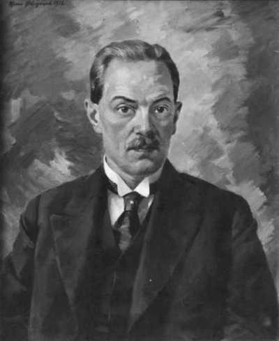maleri: portrett, mann, ingeniør, brystbilde