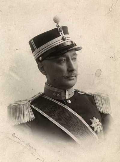 portrett, mann, telegrafdirektør, uniform