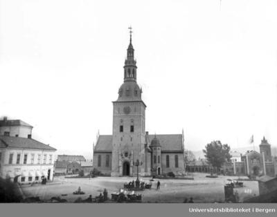 Stortorvet 1. Før 1950 var Vår Frelsers kirke navnet på Oslo Domkirke.