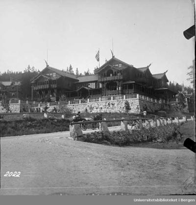 Eldste del av hotellet er fra 1894.