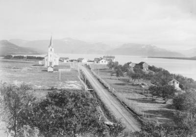 Langnes Tana kirkested.