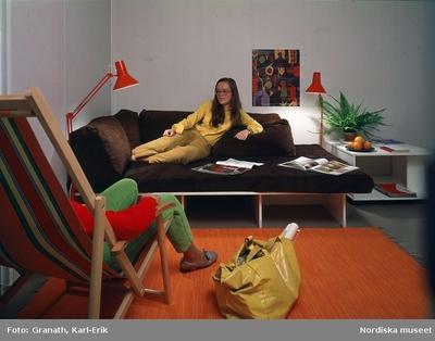 Inredning Interiör Kläder Möbler Ungdom Växter