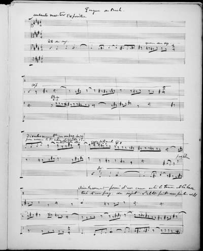 Fugue de Bach en Fa # mineur : Analysée, Commentée et Mise en Partition