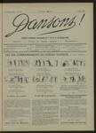 Dansons, n. 8, mai 1922