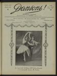 Dansons, n. 73, juillet 1926