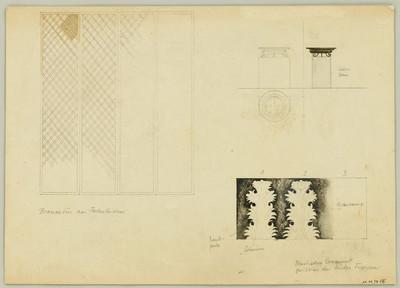 Die Braut von Messina [III] - Tür und Ornamente