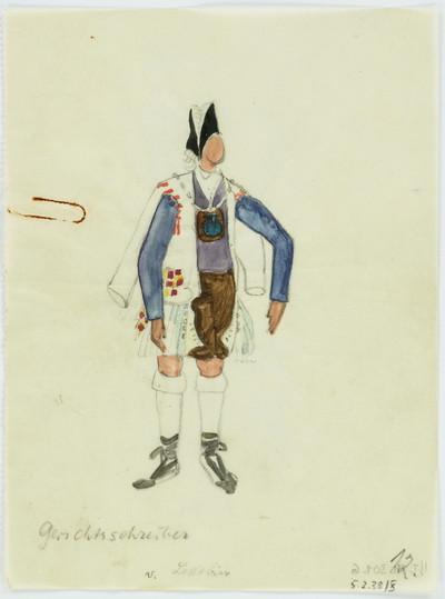 Der tolle Tag oder Figaros Hochzeit [VII] - Gerichtsschreiber