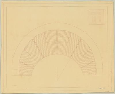 Sporttheater Entwurf [VIII] - Sitzplätze