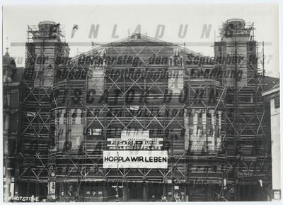 Einladung Eröffnung der Piscator-Bühne am Nollendorfplatz