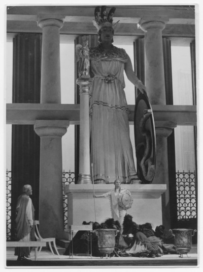 Die Orestie [XIX] - 3. Teil, Pallas Athene