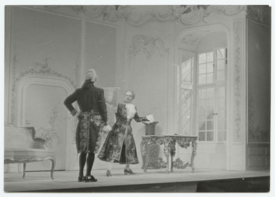 Emilia Galotti [IV] - Marinelli und Prinz