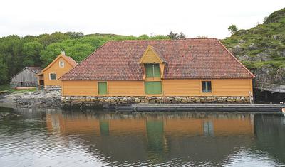 Saltebua i Trellevik