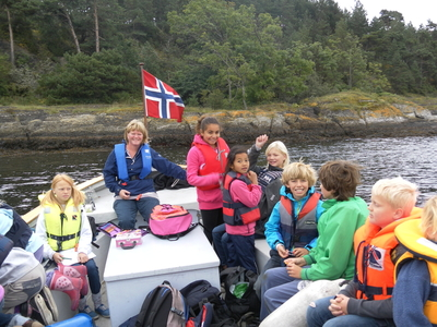 Skjærgårdsskolen på Sandøya