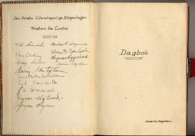 Tristan da Cunha: Altmuligmannens dagbok