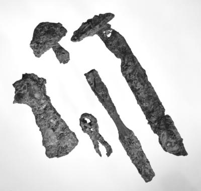 Ei grav i vegen - funn av ei vikinggrav i Søvika