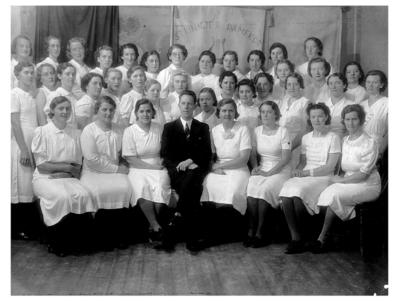 Sangerstevne på Røros 1949