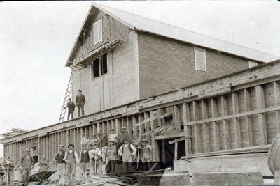Sildoljefabrikken Nimrod på Vikholmen