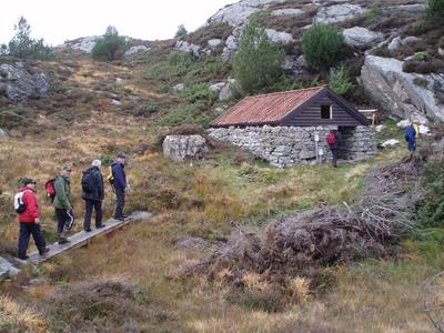 Skjeneflorane på Toftøy i Øygarden