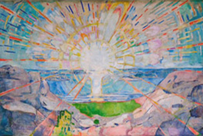 En hilsen fra Edvard Munch...