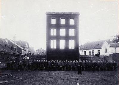 Foto fra Kristiansand brannvesens arkiv