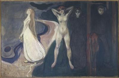 Edvard Munch og Henrik Ibsen på kunstutstilling