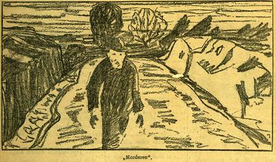 Edvard Munch: Morderen (1910)
