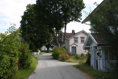 Gamlegata på Gvarv