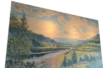 Maleri fra Bøndenes hus i Melhus