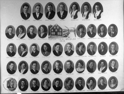Marnar Folkehøgskole 1931-1932