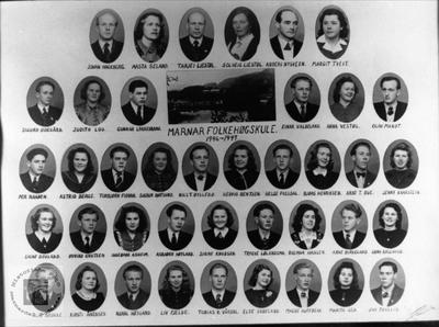 Marnar Folkehøgskole 1946-1947