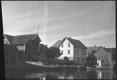 Huset og butikken til Peter Nikø i Bulandet