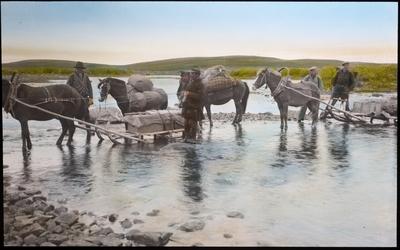 Fra foredragsrekken Landmålerlivet i Finnmark v/Axel Printz : Hjemreise over Lavnjes