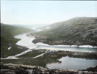 Fra foredragsrekken Landmålerlivet i Finnmark v/Axel Printz : Lævvajokgiedde